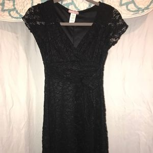 Women's Black Lace dress Size Medium